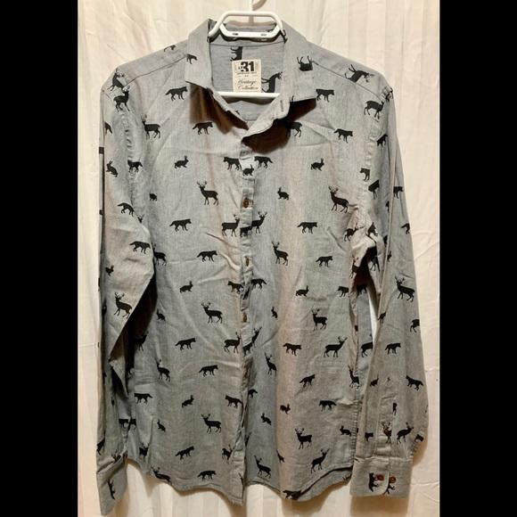 Brand brand new men's dress shirt